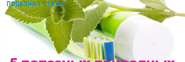 5 полезных природных компонентов для зубов